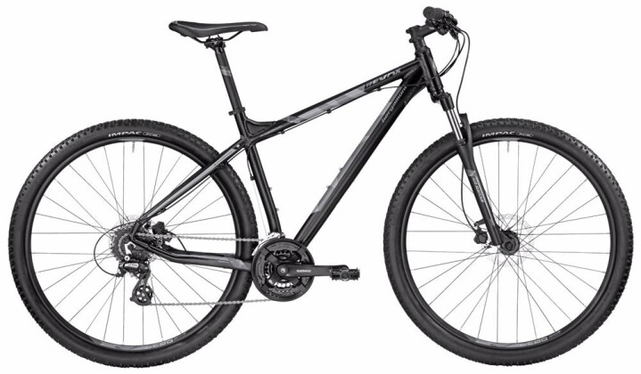 Mountainbike Bergamont BGM Bike Revox 3.0 black/grey 2017