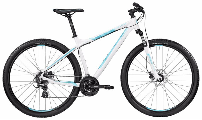 Mountainbike Bergamont BGM Bike Revox 3.0 white/coral blue 2017