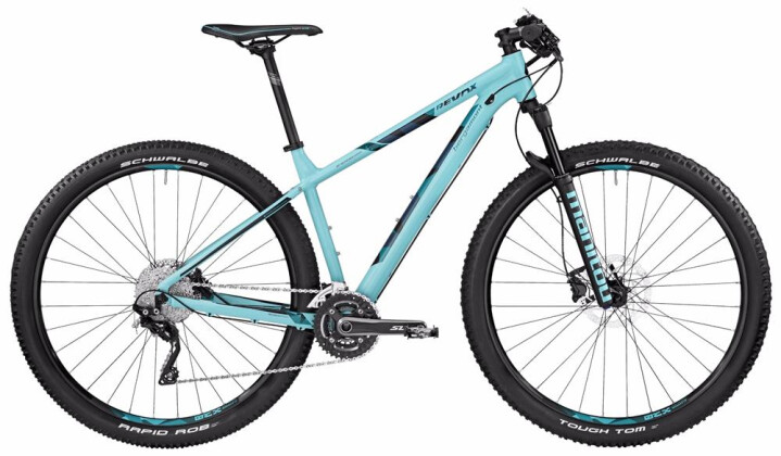 Mountainbike Bergamont BGM Bike Revox Edition coral blue/black 2017