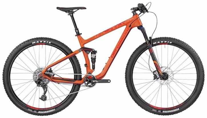 Mountainbike Bergamont BGM Bike Contrail 8.0 2017