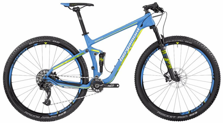 Mountainbike Bergamont BGM Bike Fastlane Team 2017
