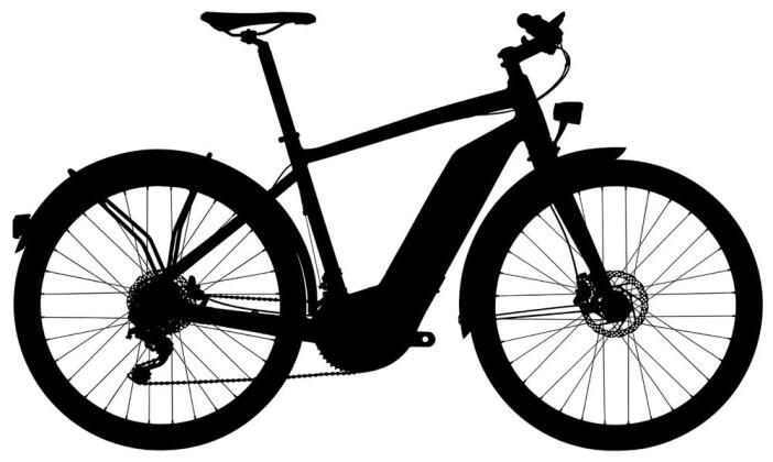 E-Bike GIANT Quick-E+ 45 2017
