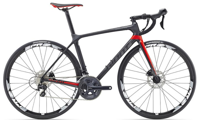 Rennrad GIANT TCR Advanced 2 Disc 2017