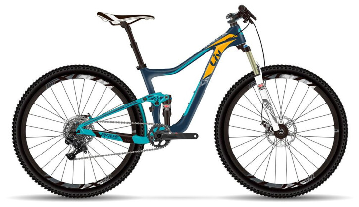 Mountainbike Liv Pique Advanced SX 2017
