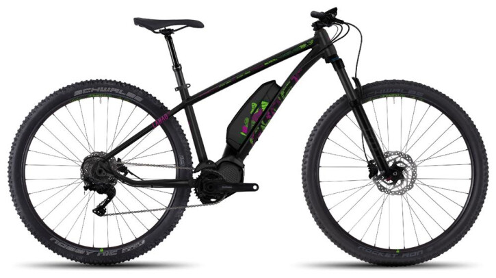 E-Bike Ghost Hybride Lanao 6 AL 27,5+ 2017