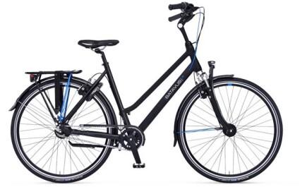 Batavus AGUDO, Citybike mit 8 Gängen und Rücktrittbremse, gefedert.