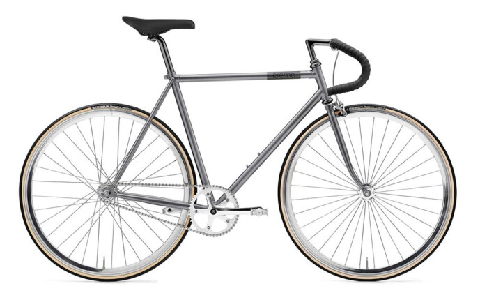 Rennrad Creme Cycles Vinyl Solo singlespeed or fixed gear 2017