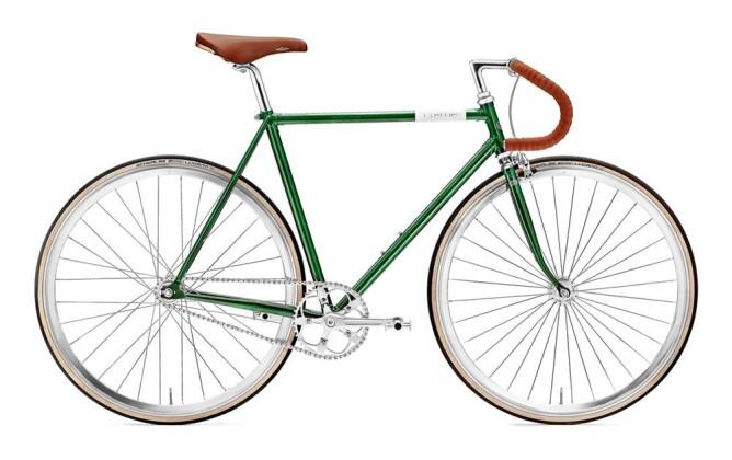 Rennrad Creme Cycles Vinyl Doppio singlespeed or fixed gear 2017