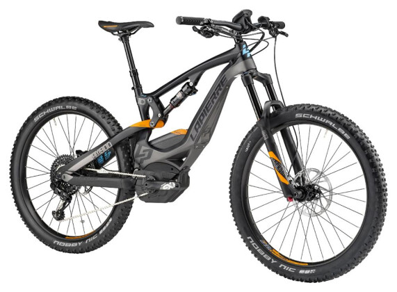 "E-Bike Lapierre VTT OVERVOLT AM900+ Carb 27.5"" 2017"