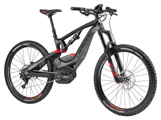 "E-Bike Lapierre VTT OVERVOLT AM800 Carb 27.5"" 2017"