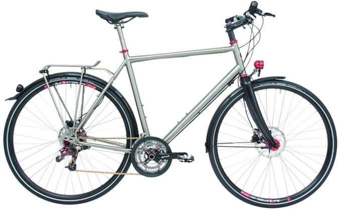 Trekkingbike Maxcycles Titanium Rohloff GTS 2017