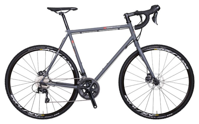 Rennrad VSF Fahrradmanufaktur Cross CR-500 Shimano 105 2x11-Gang / Disc 2017