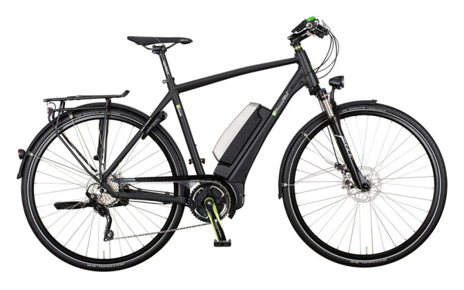 E-Bike e-bike manufaktur 13ZEHN - Shimano Deore XT 10-Gang / Disc 2017