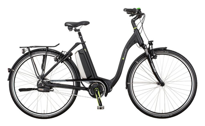 E-Bike e-bike manufaktur 5NF Brose 500 Wh NuVinci N380 Harmony / HS22 2017