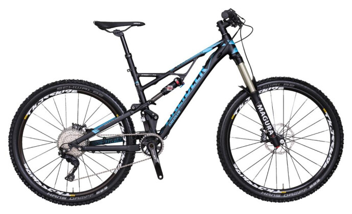 Mountainbike Kreidler Straight 2.0 - Shimano XT 1x11 / Disc 2017