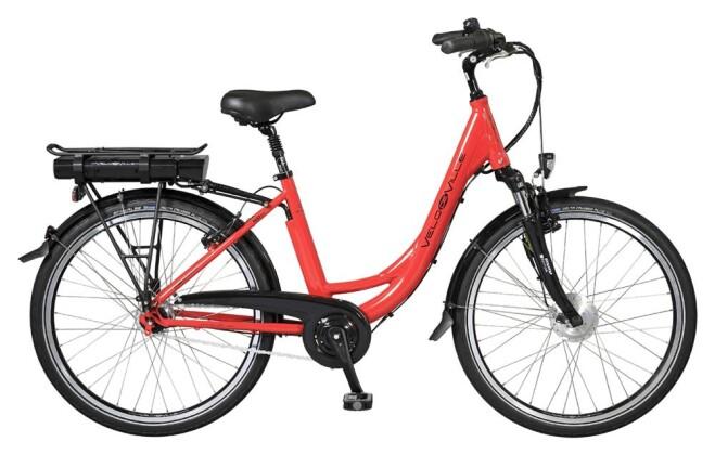 E-Bike Velo de Ville CEA80 7 Gg Shimano Nexus Rücktritt 2017