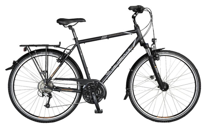 Trekkingbike Velo de Ville A70 27 Gg Shimano XT Mix HS11 2017
