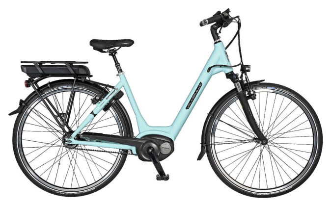 "E-Bike Velo de Ville CEB800 Belt 28"" 11 Gg Shimano Alfine 2017"