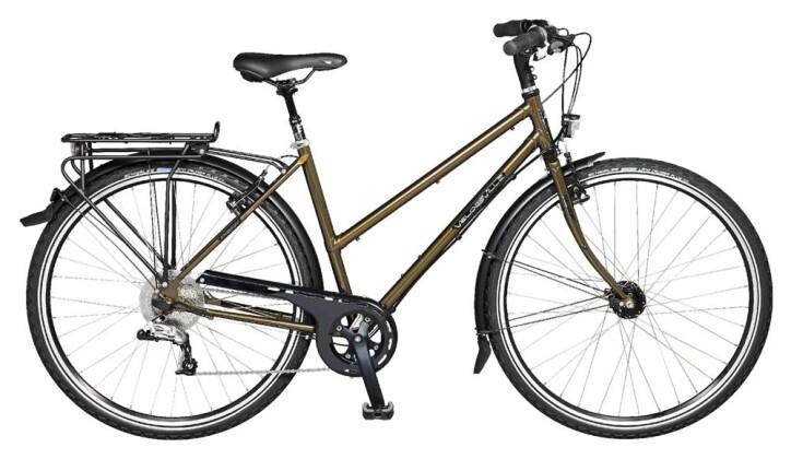 Trekkingbike Velo de Ville A450 Allround 8 Gg Shimano Alfine Freilauf 2017
