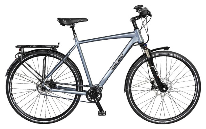 Citybike Velo de Ville A800 Allround Belt 11 Gg Shimano Alfine Freilauf 2017