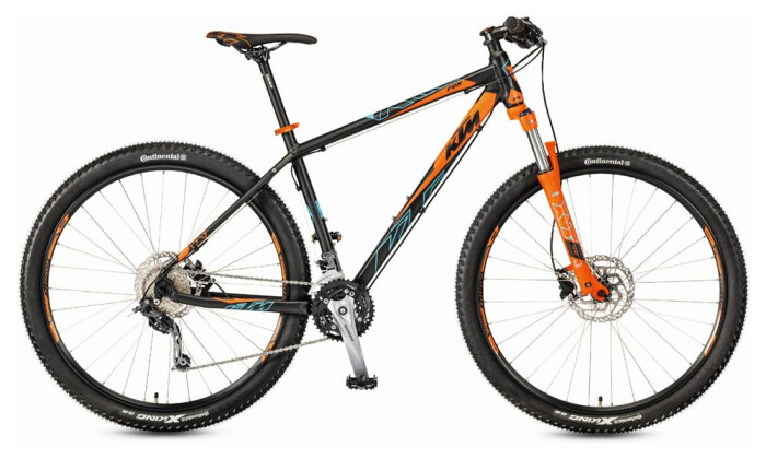 "Mountainbike KTM Ultra 29"" Fun  27s Deore 2017"