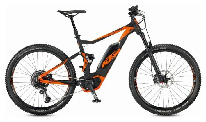 E-Bike KTM Macina Lycan  Lycan 1 8s EX1 2017