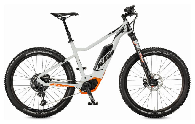 E-Bike KTM Macina Fogo Fogo 1 8s EX1 2017
