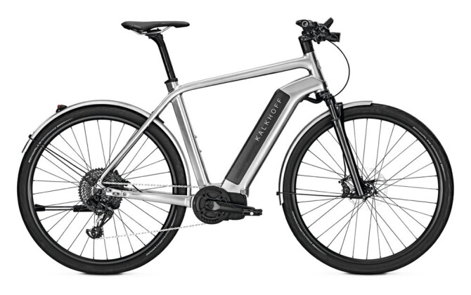 E-Bike Kalkhoff INTEGRALE LTD SILVER 2017