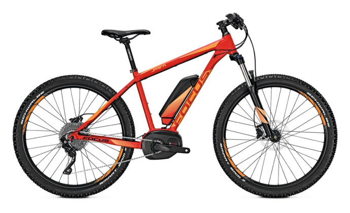 E-Bike Focus Jarifa Plus Pro 2017