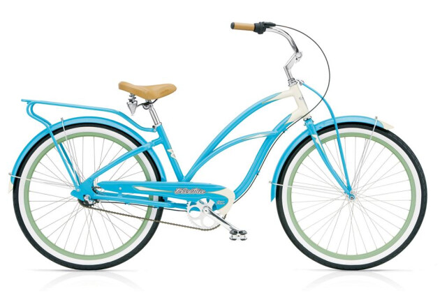 Cruiser-Bike Electra Bicycle Super Deluxe 3i Ladies' 2017