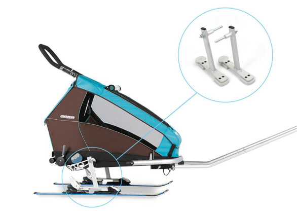 Zubehör / Teile Croozer Croozer Ski-Adapter-Set 2017