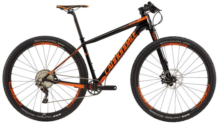 Mountainbike Cannondale 27.5 M F-Si Crb 2 ORG SM 2017