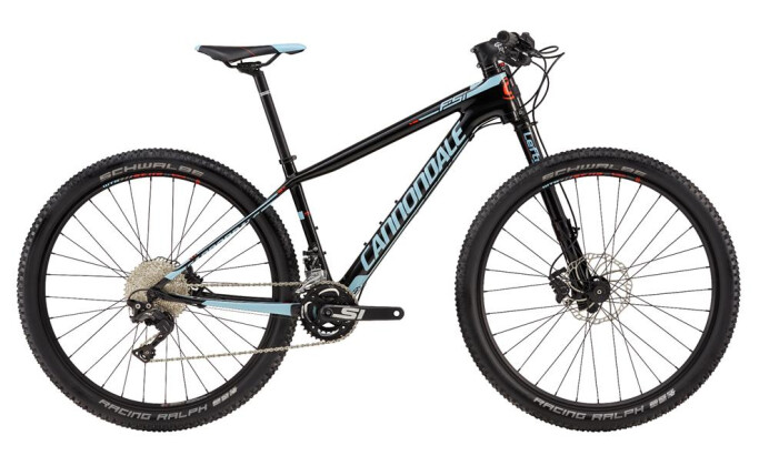 Mountainbike Cannondale 27.5 F F-Si Crb 2 Wmn BLK MD 2017