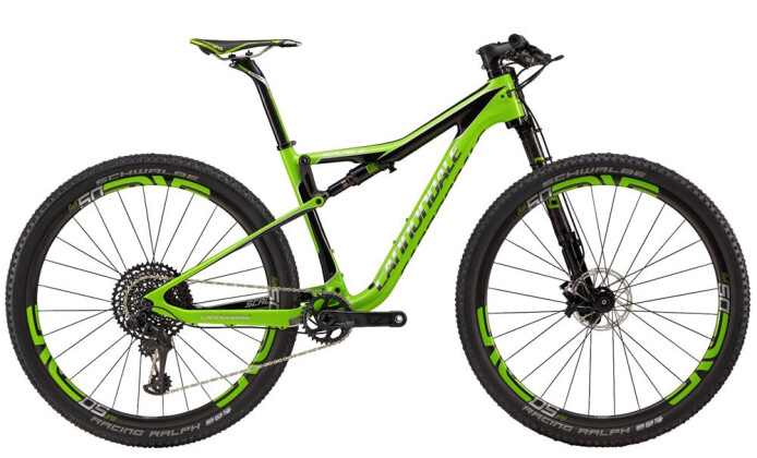 Mountainbike Cannondale 27.5 M Scalpel Si HM Team GRN SM 2017