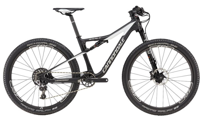 Mountainbike Cannondale 27.5 F Scalpel Si Crb 1 BLK MD 2017