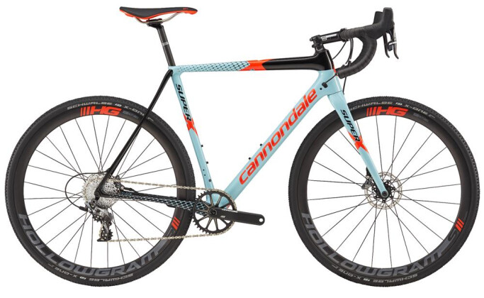 Rennrad Cannondale 700 M SuperX Force 1 BLU 46 2017