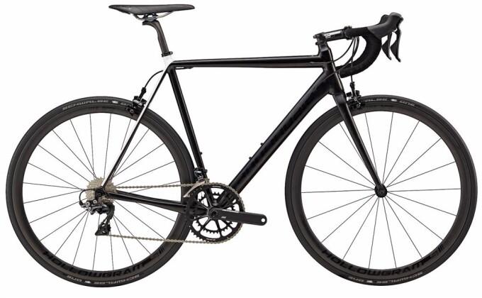 Rennrad Cannondale 700 M CAAD12 Black Inc BLE 48 2017