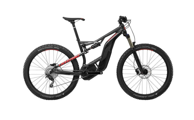 E-Bike Cannondale 27.5+ M Moterra 3 NBL LG 2017