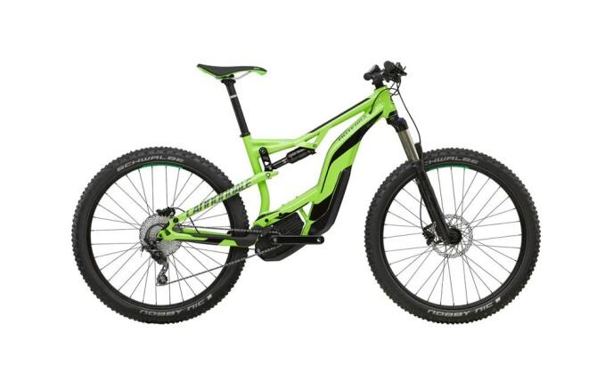 E-Bike Cannondale 27.5+ M Moterra 3 GRN LG 2017