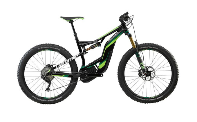E-Bike Cannondale 27.5+ M Moterra 1 BLK LG 2017