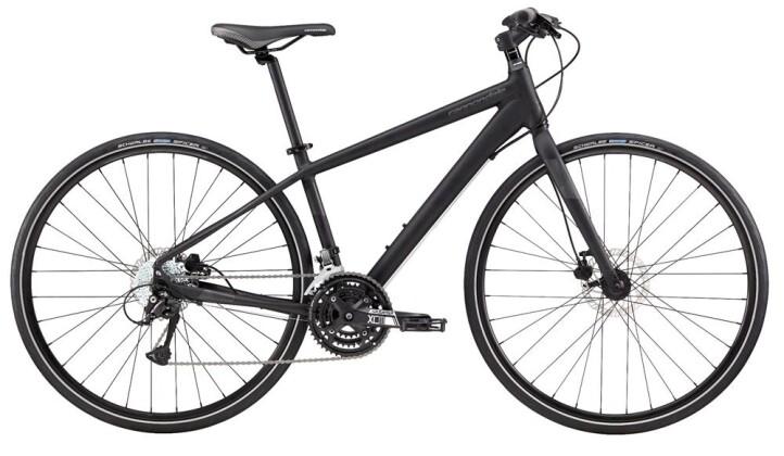 Urban-Bike Cannondale 700 F Quick Disc 5 BLK MD 2017
