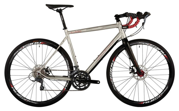 Rennrad Corratec All Road Gravel mit hydro Disc 2018