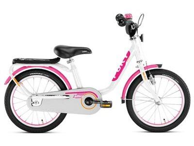 Puky Z 6 Edition weiß/pink 16 Zoll Kinderfahrrad