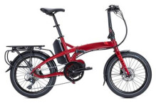 E-Bike Tern Vektron P9 Dark Red/Silver
