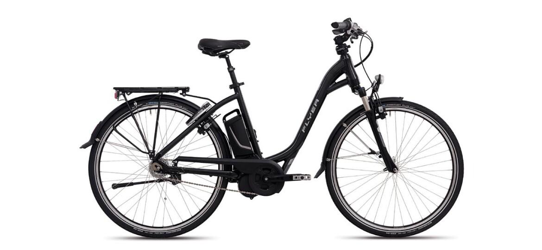 flyer t5r damen e bike 8 gang panasonic motor mit 12ah jetzt kaufen. Black Bedroom Furniture Sets. Home Design Ideas