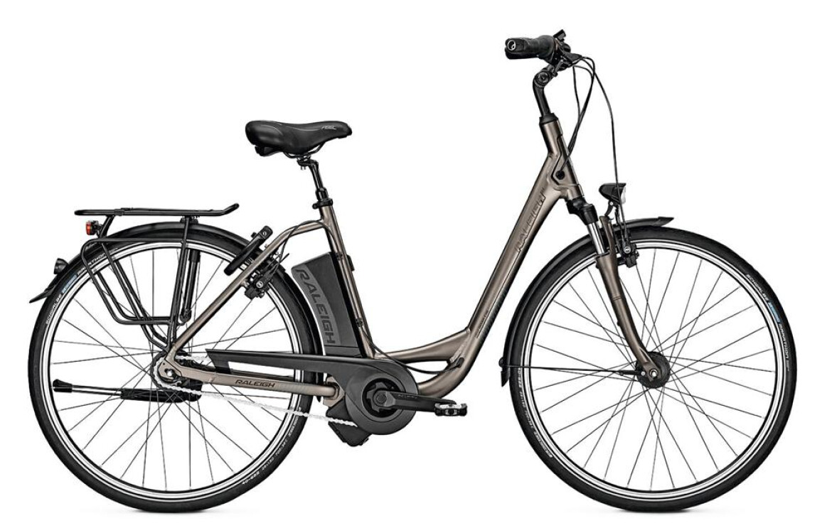 Raleigh Dover 8 HS grey matt