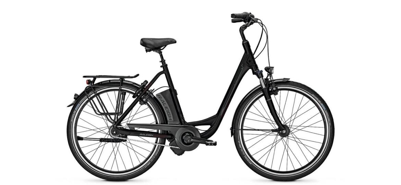 Raleigh Dover XXL, Damen E-Bike, Gesamtgew. 170 kg, Akku: 17.0 Ah, 8-Gang Nabenschaltung, Rücktrittbremse.