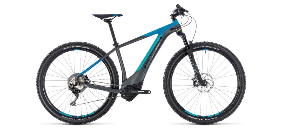 Cube Reaction Hybrid SL 500 iridium´n´blue 2018 27,5er