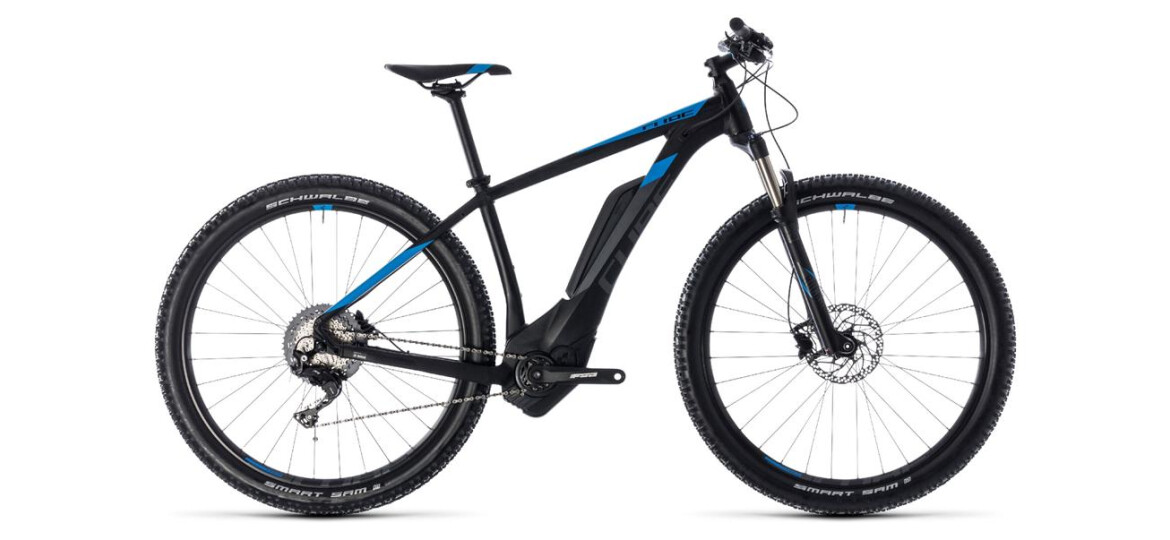 Cube Reaction Hybrid Race 500 black´n´blue 2018 29er