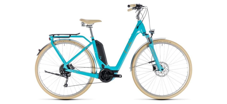 Cube Elly Ride Hybrid 500 aqua´n´orange 2019